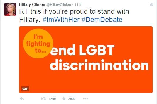 comunicazione politica candidati USA 2016 Hillary Clinton