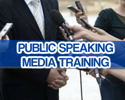 Public Speaking - Media Training