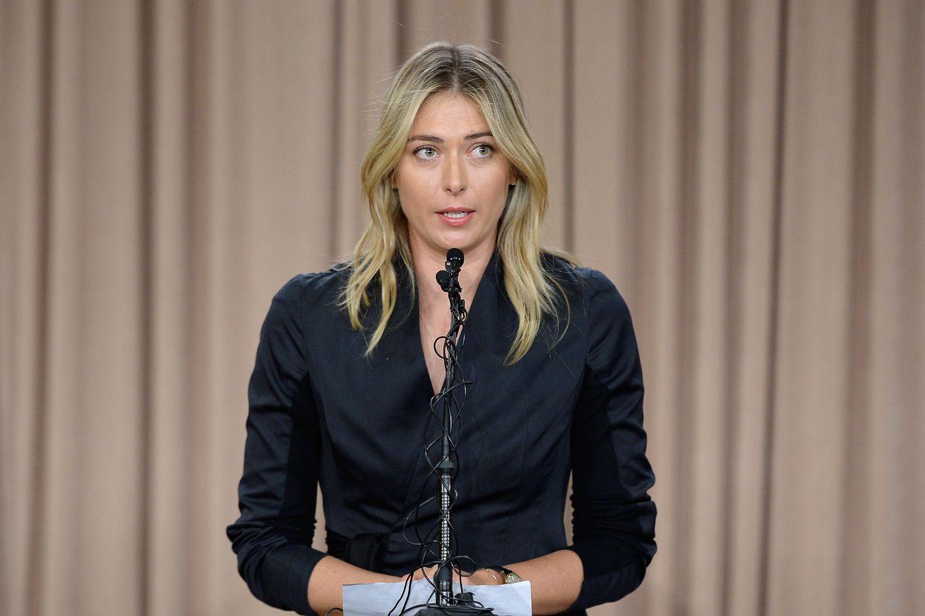 public speaking maria sharapova