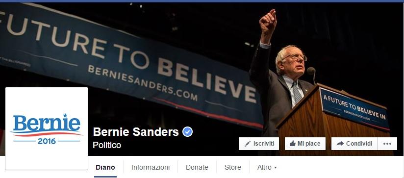 Comunicazione politica: i punti di forza di Bernie Sanders sui social