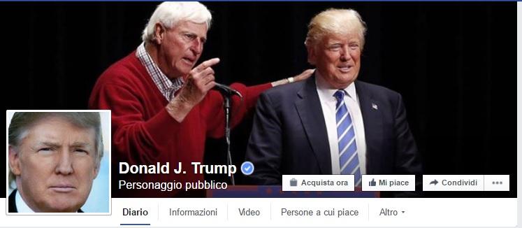 comunicazione politica 3.0 donald trump su facebook